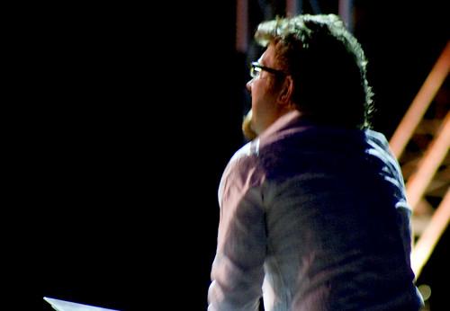 Iain Grandage conducts the Festival Journey Choir