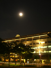 Moon over Suntec