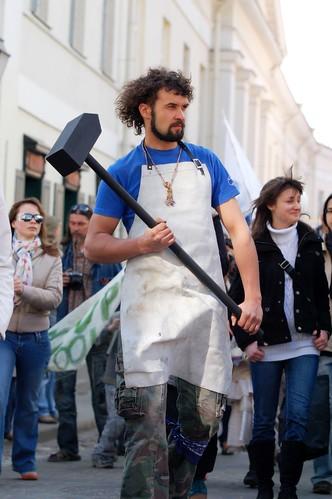 Blacksmith from Užupis