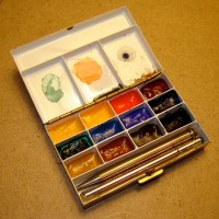 Watercolors: Three Gorgeous Pocket-Size Spit Boxes