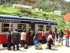 Autovagón de Huancayo a Huancavelica