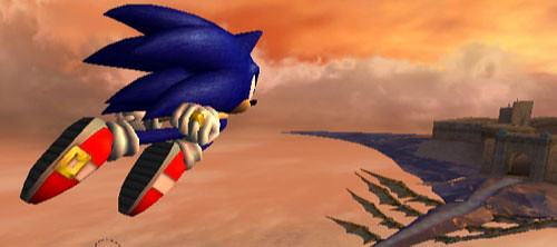 sonic wii