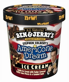 Stephen Colbert Ice Cream