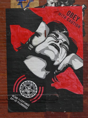 Obey With Caution by r.d.i., on Flickr