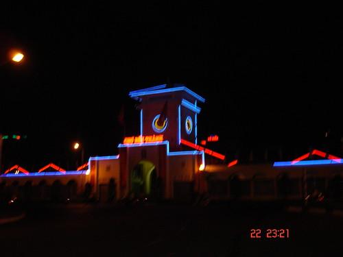 Ben Thanh Market at night