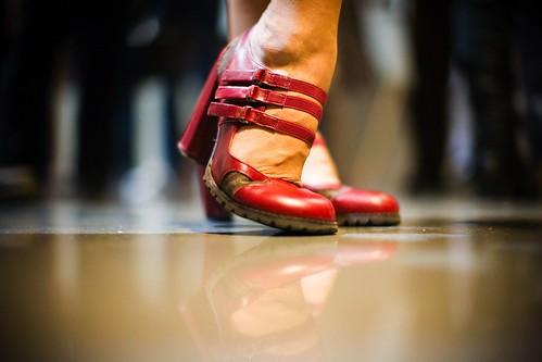 Angels Want to Wear My Red Shoes by Thomas Hawk