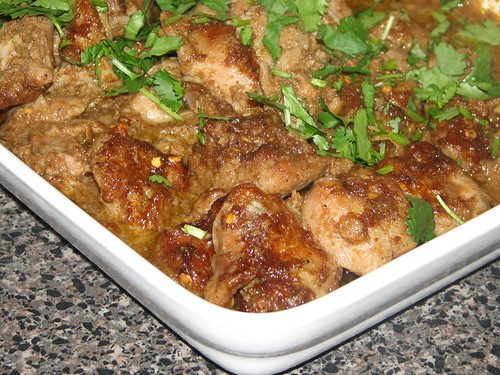 Oven Baked Chicken Curry