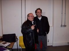 Ari and Sir. Arnold Wesker