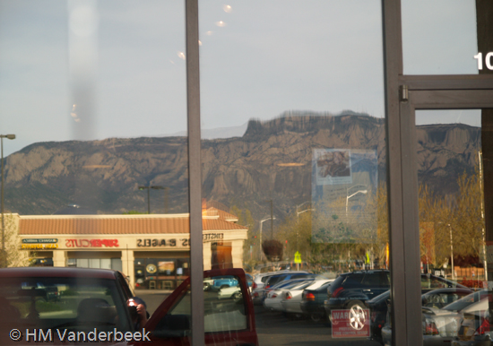Sandia Mountain Reflection