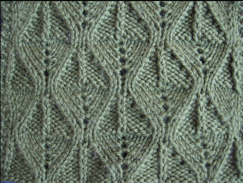 Reverse Fern Stitch