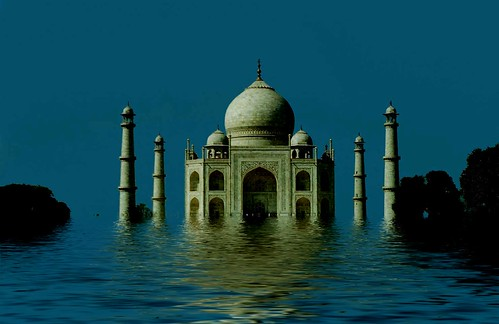 Tsunami, Flood at Taj Mahal 2050AD