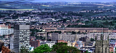 panorama of sheffield - south yorkshire