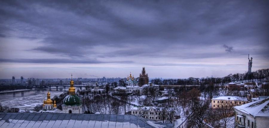 Deep Winter in Kiev