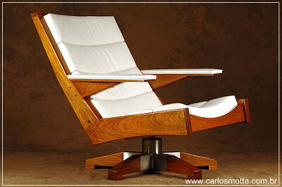 Carlos Motta armchair design reclaimed furniture green wood recycled