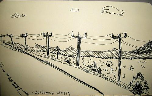 Highway in California