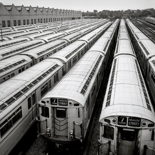Subway Trains NYC 1970