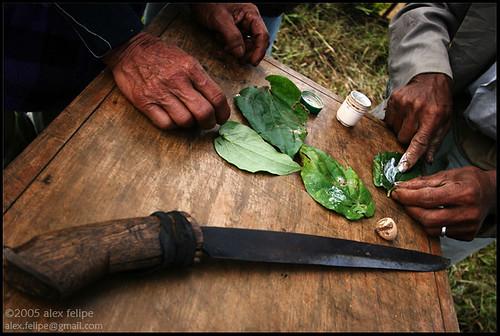 Tala-andig pre-sacrifice ritual. [Miarayon, Mindanao]