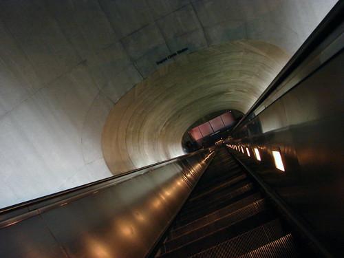 Dupont Circle Escalator, Washington D.C.
