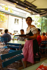 Schlachtplatte - a platter of German fare from Lowenbrau Beer Hall and Restaurant