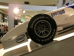 39.BMW F1.07:BRIDGESTONE的輪胎