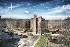 park hill [residential area in sheffield - eng...