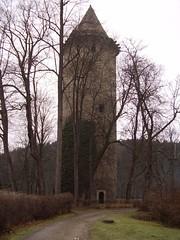 Gothic Tower at Rožmberk nad Vltavou