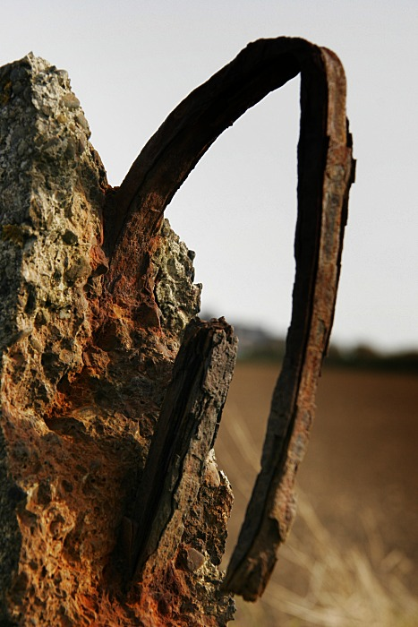 Rusted, old and bent