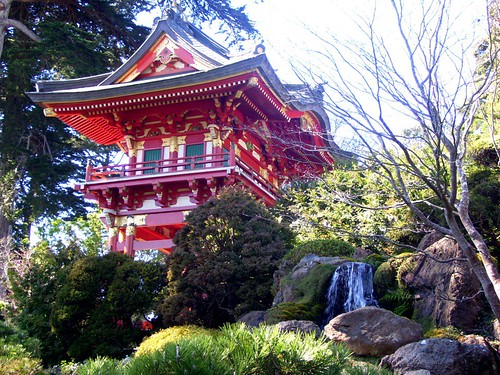 Japanese Tea Garden House