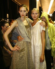 Australian Fashion Week - Backstage at the Lee...