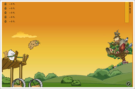 flight of the hamsters game screenshot