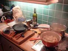 Chaotic cooking sesh