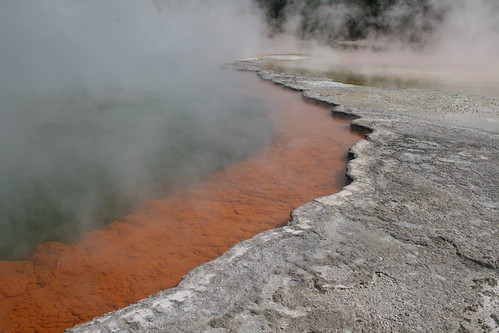 The Champagne Pool, Wai O Tapu