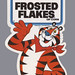 Kellogg's Character Stickers - Frosted Flakes - 1984
