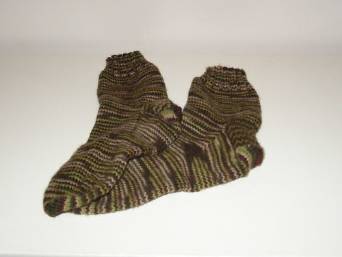 Andrew's socks, finished