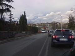 Traffico. Maledetto traffico.