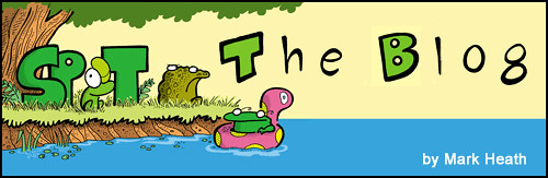 Spot the frog - The blog