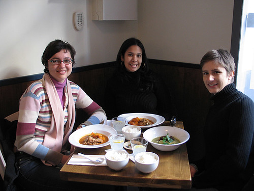 Girls out for lunch