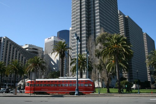 One of the many SF Trams