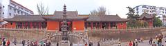 Temple panorama 明教寺