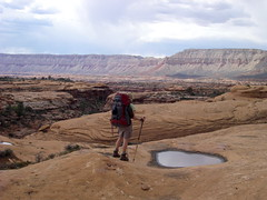 Grand Canyon Hiking - Thunder River trail at t...