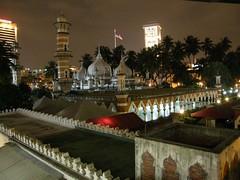59.Masjid Jamed清真寺的夜景