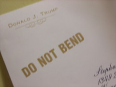 Letter from Donald