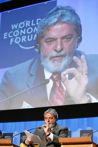 Luiz Inacio Lula da Silva - World Economic Forum Annual Meeting Davos 2007
