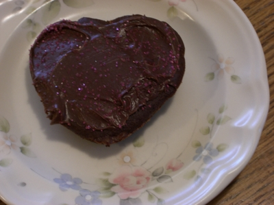 Heart treat for Valentine's Day