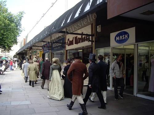 061002.078.Somset.Bath.Merchant's Passage.Filming Jane Austen's Persuasion