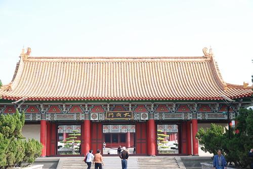 高雄�廟-大成門