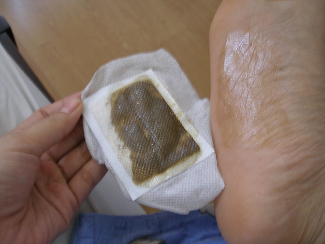 Toxins under my foot