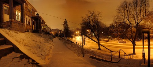 Beechwood Boulevard by night