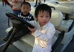 小鬼開大車