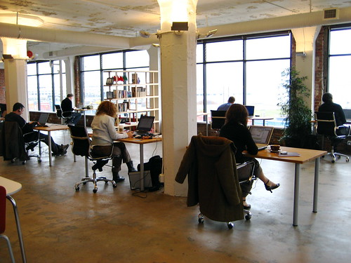 Workspace: Coworking office in Vancouver